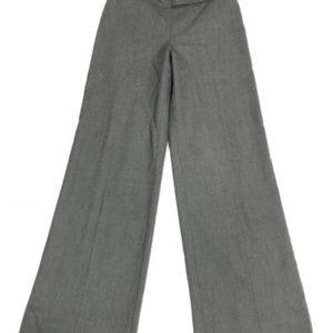 Trina Turk Side Zip Wide Leg Dark Fully Lined Pant